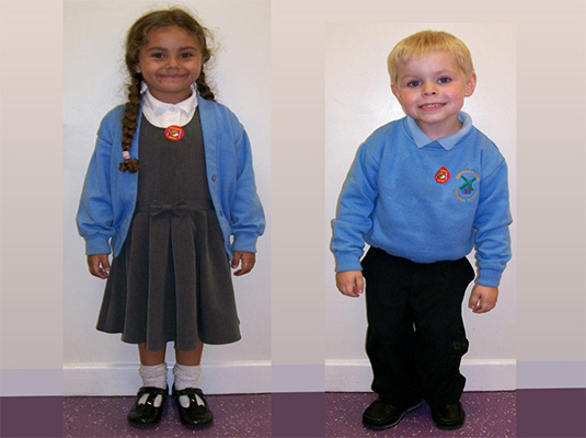 Boy's & Girl's full uniform