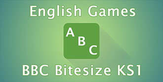 Go to the 'BBC Bitesize KS1 English Games' website