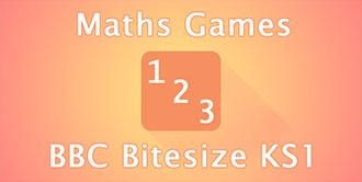 Go to the 'BBC Bitesize KS1 Maths Games' website