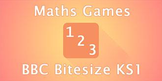Go to the 'BBC Bitesize KS1 Maths Games' website