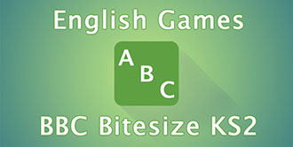 Go to the 'BBC Bitesize KS2 English Games' website