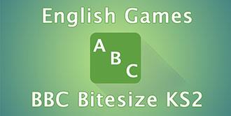 Go to the 'BBC Bitesize KS2 English Games' website