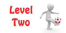 Go to the 'Level 2 Football Quiz'