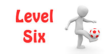 Go to the 'Level 6 Football Quiz'