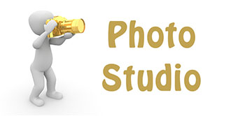 Go to the 'Photo Studio'
