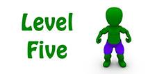 Go to the 'Level 5 Superhero Quiz'